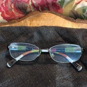 COACH Rx Ready Glasses 9025 Bettie Rainbow $170NEW